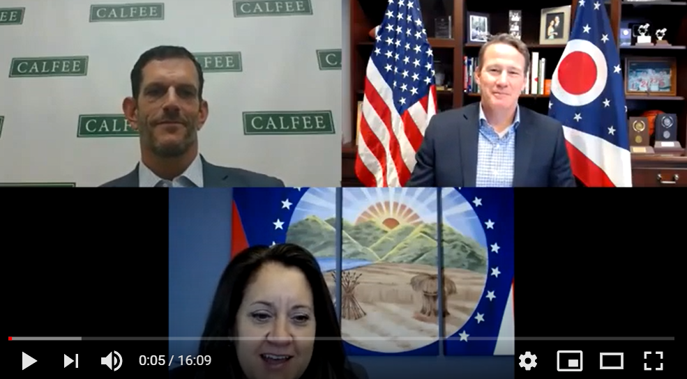 Calfee NOW Episode 12 With Ohio Lieutenant Governor Jon Husted