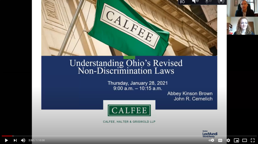 Understanding Ohio's Revised Non-discrimination Laws