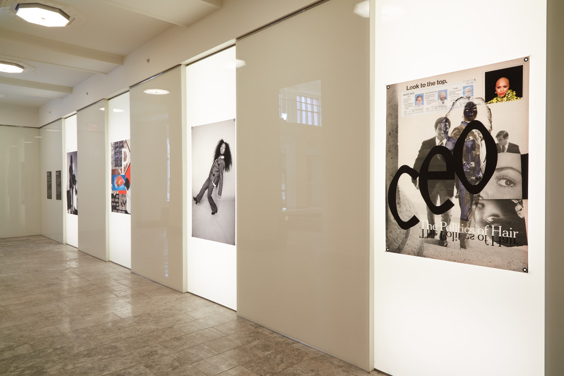 BLACK YOUTH [Avant‐garde] Exhibition by Shooting Without Bullets. Photo credit: Rustin McCann
