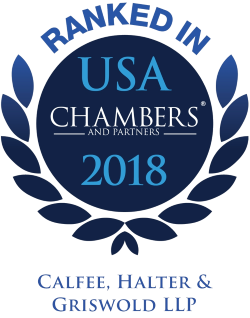 Chambers 2018 - Calfee, Halter & Griswold LLP